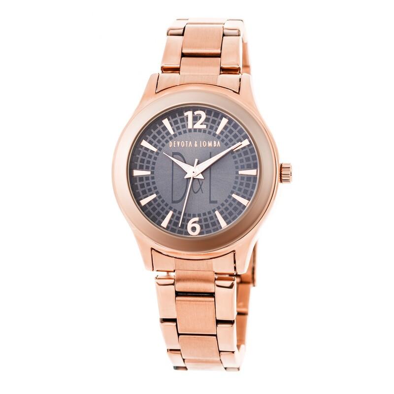 Reloj oro rosa mujer 8435432511534 Devota & Lomba