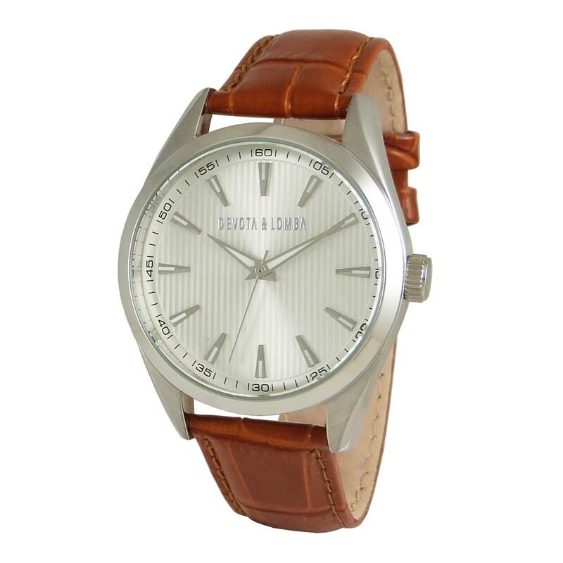 Reloj piel hombre 8435334800170 Devota & Lomba