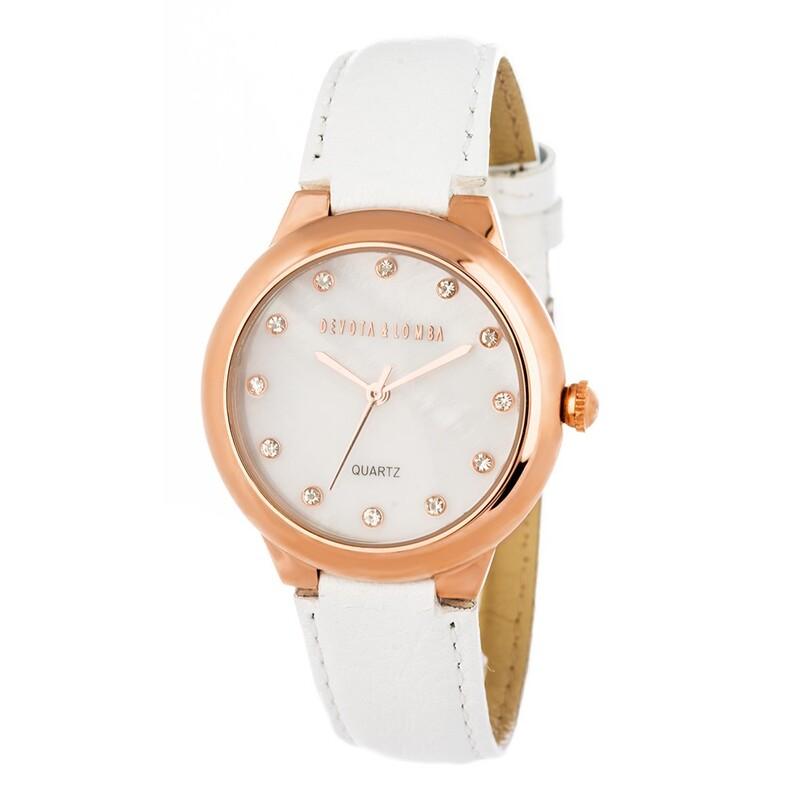 Reloj piel mujer 8435432512036 Devota & Lomba