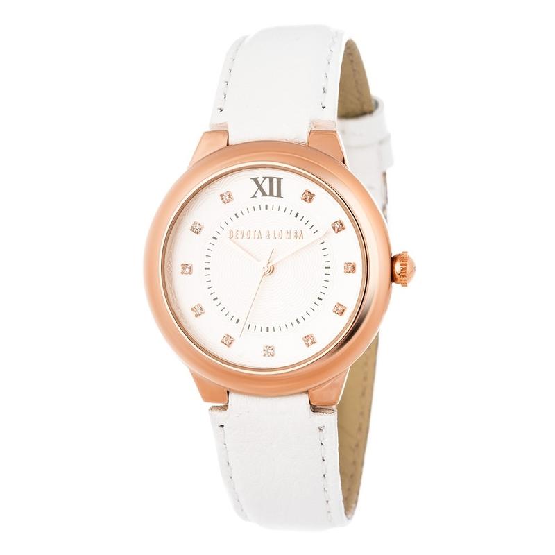 Reloj piel mujer 8435432512081 Devota & Lomba