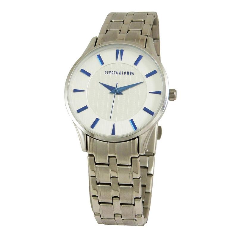 Reloj plateado mujer 8435334800033 Devota & Lomba