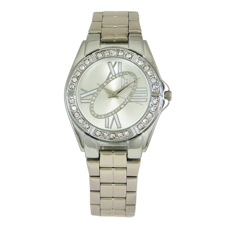 Reloj plateado mujer 8435432512890 Devota & Lomba