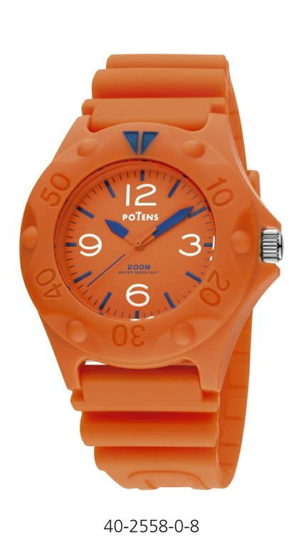 Reloj Potens naranja 40-2558