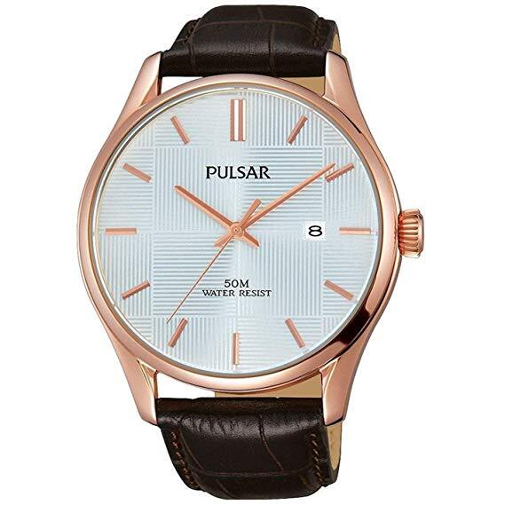 Reloj PULSAR caballero 50 mts cristal mineral PS9426X1