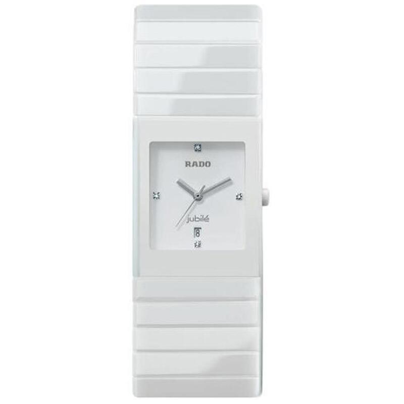 RELOJ RADO CERAMICA WHITE R21711702