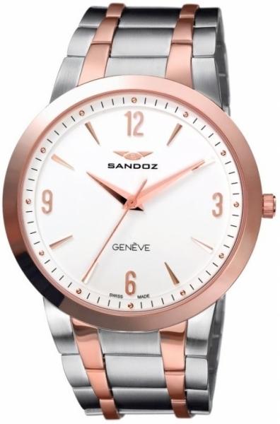 Reloj Sandoz Clásico bicolor QZ EW 42 81333-90