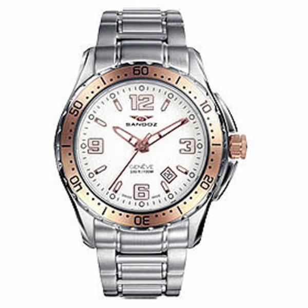 Reloj Sandoz hombre calendario 81327-90