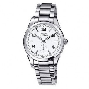 reloj sandoz señora cadena de acero  72572-00