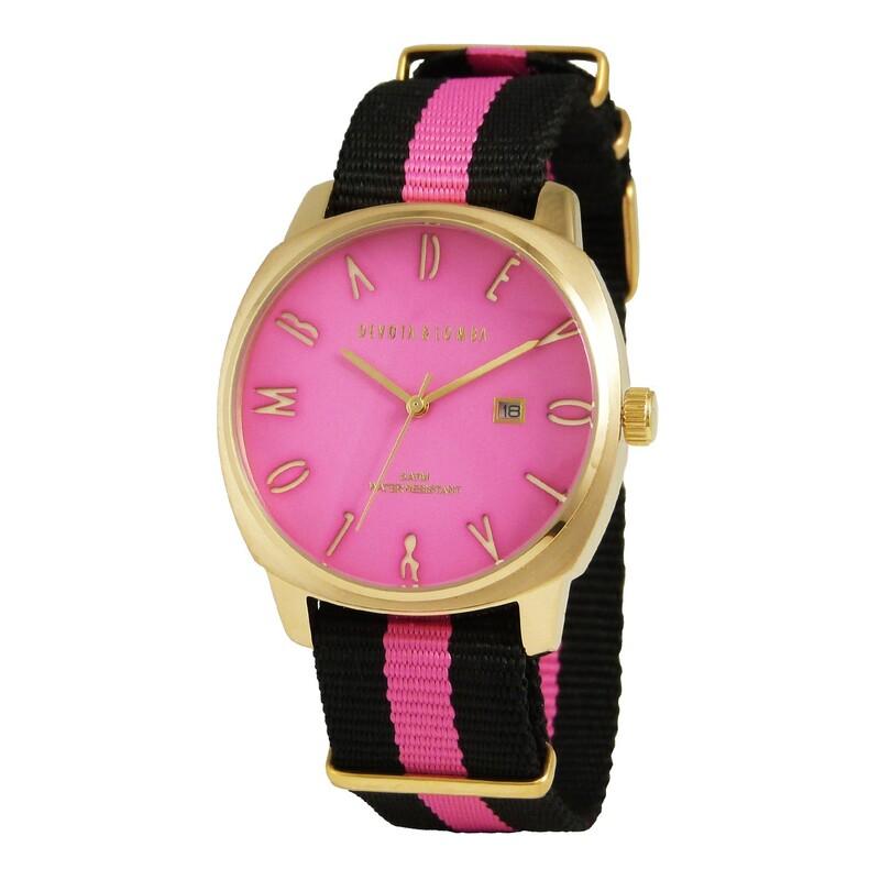 Reloj sport hombre rosa 8435334800019 Devota & Lomba