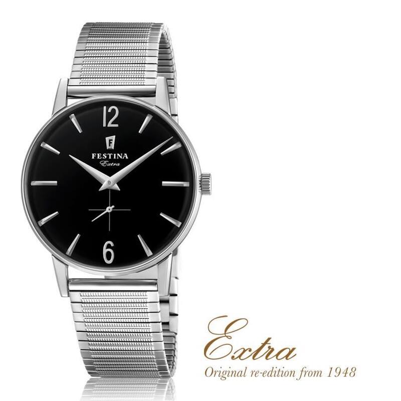 Reloj sr festina extra negro f20250/4
