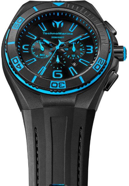 Reloj tecnomarine caucho negro  112003 Technomarine