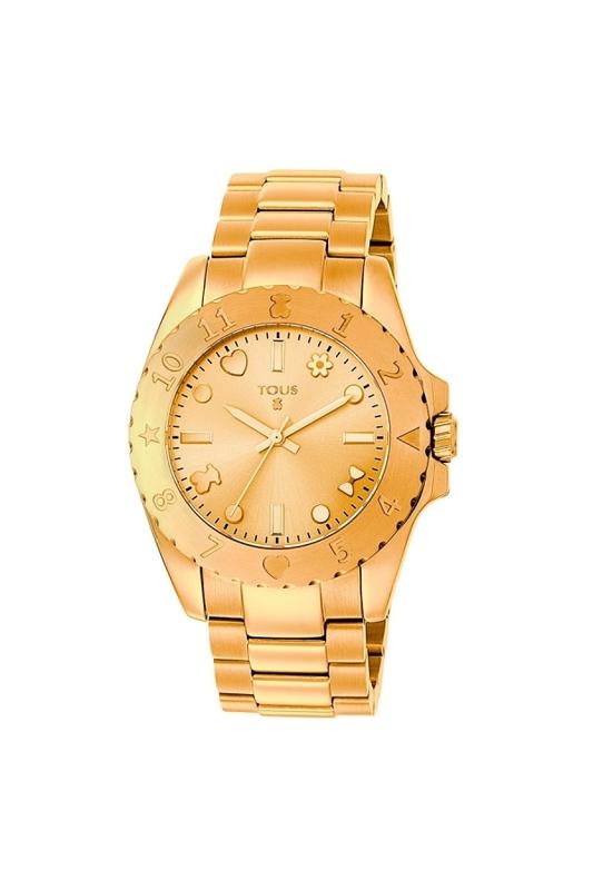 b2d3ba9f9a9b Reloj Tous dorado de mujer 400350165