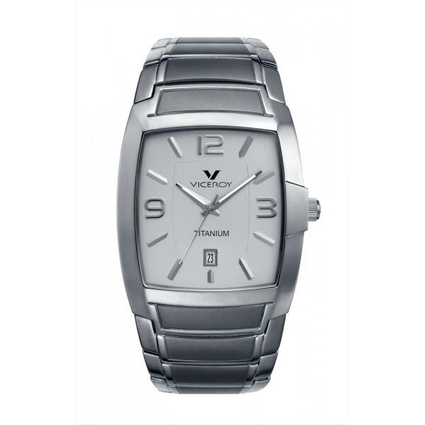 reloj viceroy caballero titanio sumergible  47621-05