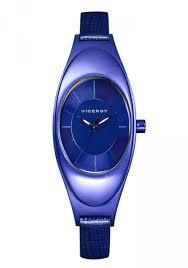 reloj viceroy señora aluminio azul  47702-37
