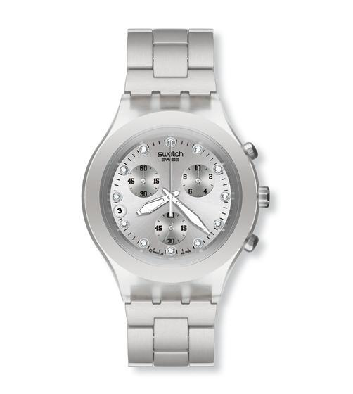 RELOJ SWATCH DIAPHANE FULL-BLOODED SILVER SVCK4038G