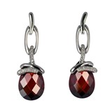 TRINKET EARRINGS PENDANTS ZIRCONS TEARS, CRYSTALS, BROWN, AND PEARL CRYSTAL 8435334802143 DEVOTA AND LOMBA Devota & Lomba