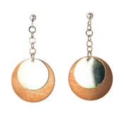 TRINKET EARRING ECLIPSE OF THE MOON 8435334801245 DEVOTA AND LOMBA Devota & Lomba