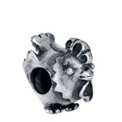 Abalorio plata Viceroy Plaisir gallo VMG0010-00
