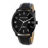 TRINKET WATCH BLACK LEATHER MAN 8435432512135 DEVOTA AND LOMBA Devota & Lomba