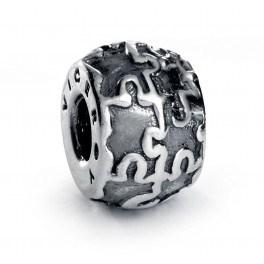 Abalorio de plata Viceroy puzzle VMM0003-00