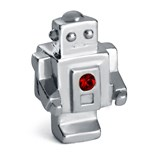 Viceroy argent perles swarovski de robot VMG0025-17