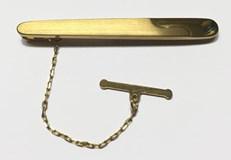 Aguja corbata oro
