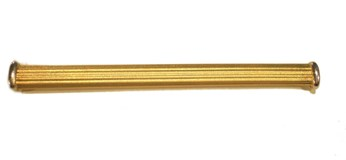 Needle gold tie pin
