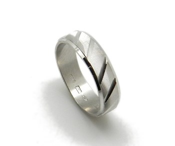 RING Alliance of silver rhodium-plated