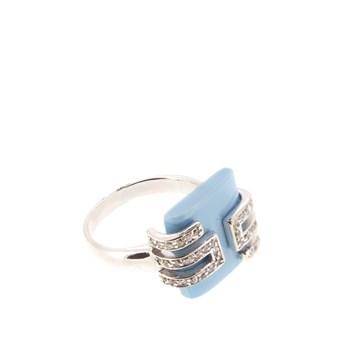 Stradda argent anneau en pierre turquoise 15S44