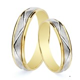 RING ALLIANCE TWO-TONE. 5 MM