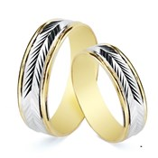 RING ALLIANCE TWO-TONE. 5.5 MM