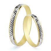 RING ALLIANCE TWO-TONE 3 MM