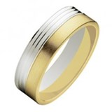 BAGUE ALLIANCE OR - PROPRE - 3229-6MM