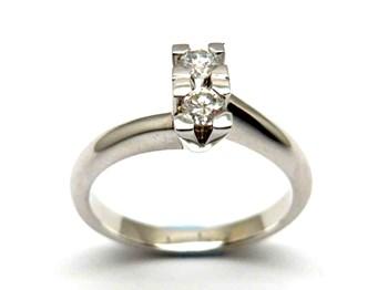 Bague or et diamants AN1700057