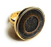RING GOLD PLATED SRA BIJOUX VICEROY B1067A015-06