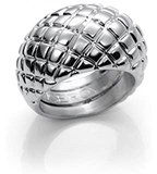 RING PLATED RHODIUM VICEROY B1003A015-00