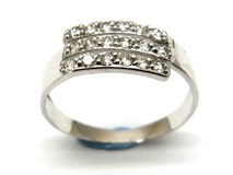 Bague or et diamants AN1401600