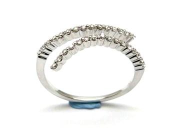 Bague or et diamants AN1402269