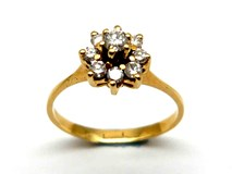 RING OF GOLD AND DIAMONDS AN2400422
