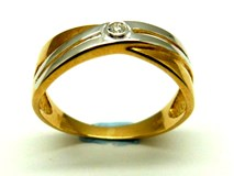 Bague or et diamants AN3200447