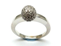 Bague or et diamants AN3400206