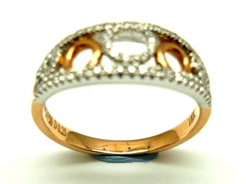 Anillo de oro y diamantes AN3400909