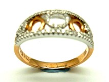 RING OF GOLD AND DIAMONDS AN3400909