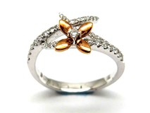 Bague or et diamants AN3400945