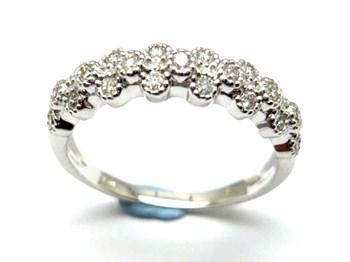 Anillo de oro y diamantes AN3402012