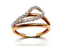 RING OF GOLD AND DIAMONDS AN500015