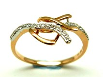 RING OF GOLD AND DIAMONDS AN500017