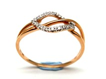 Bague or et diamants AN500021