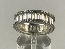 SILVER RING CR1267 KAVAK DIAMONDS