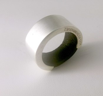ADOLFO DOMINGUEZ 399 SILVER RING